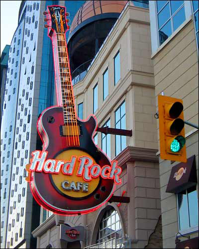 Dubai's Hard Rock Cafe Installs the World's Tallest Guitar