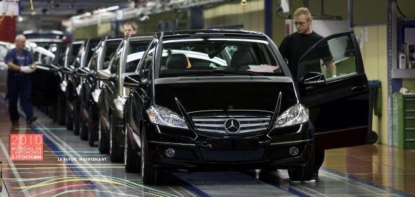 Limited Ediotn E-Cell Mercedes-Benz A-Class Set for Paris Debut