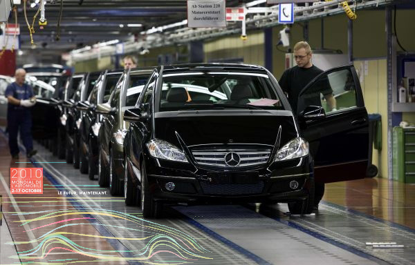Limited Ediotn E-Cell Mercedes-Benz A-Class Set for Paris Debut