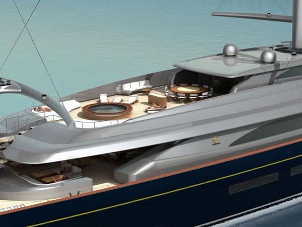 Perini Navi's New Luxury Sailing Superyacht