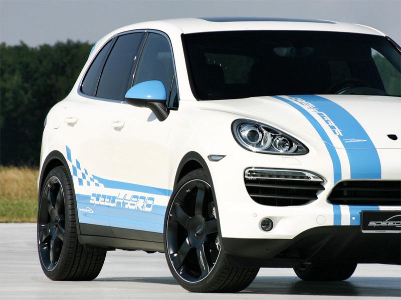 SpeedHYBRID - Porsche Cayenne S Hybrid by SpeedART