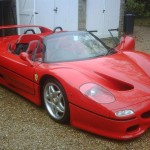Sultan of Brunei's Rare Right Hand Drive Ferrari F50 for Sale