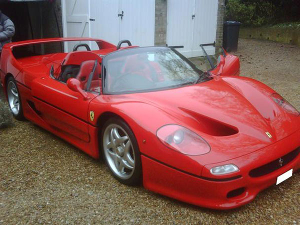 Right Hand Drive Ferrari F50