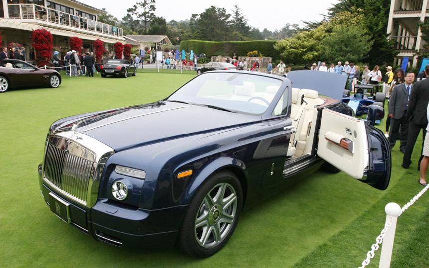 Rolls-Royce Phantom Drophead Coupe Pebble Beach Special Edition