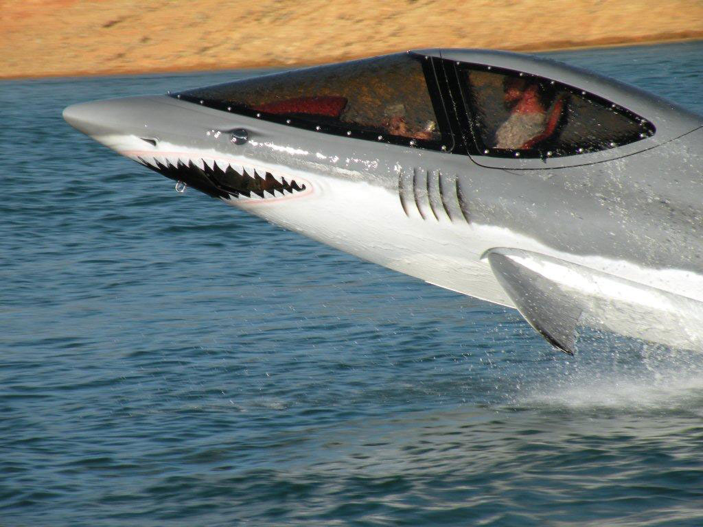 Seabreacher X - Shark-like Boat
