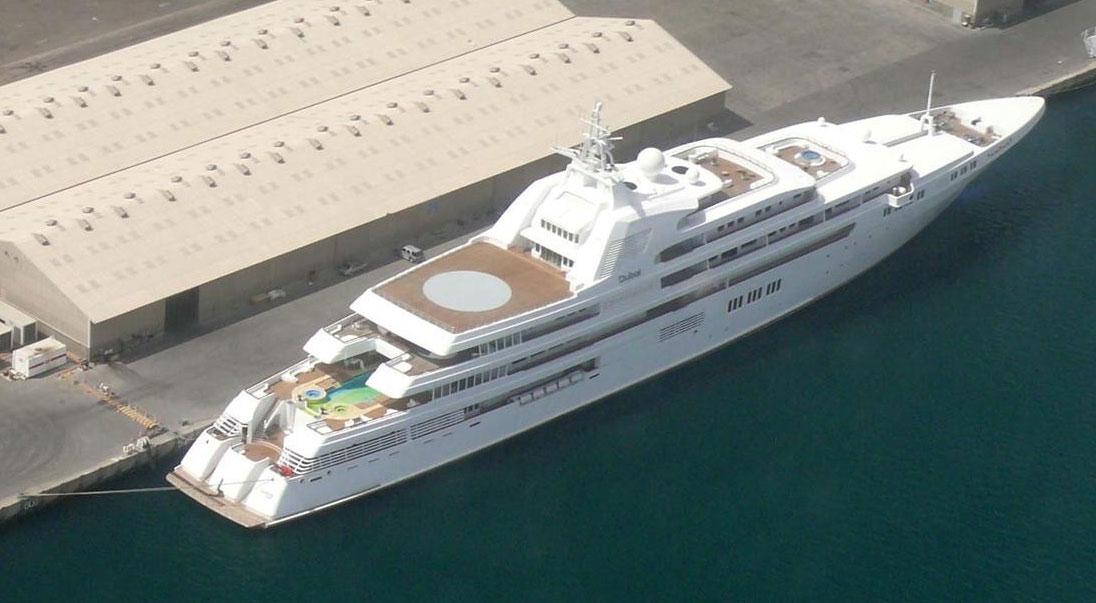 Sheikh Mohammed Bin Rashid Al Maktoum's Dubai Yacht