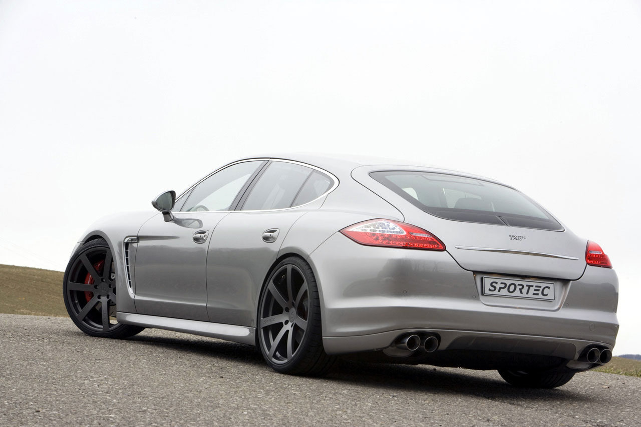 Sportec Provides an Extra Boost for Porsche Panamera Turbo
