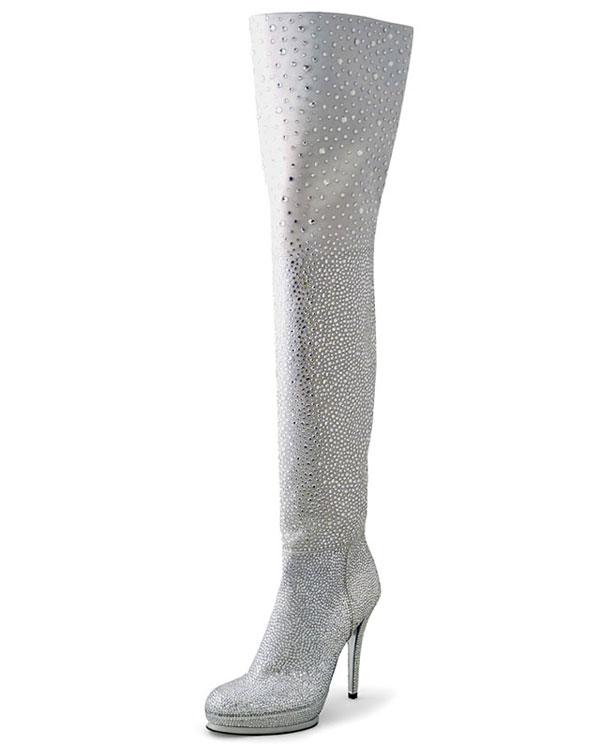 Stuart Weitzman Rockstar Thigh-High Boots