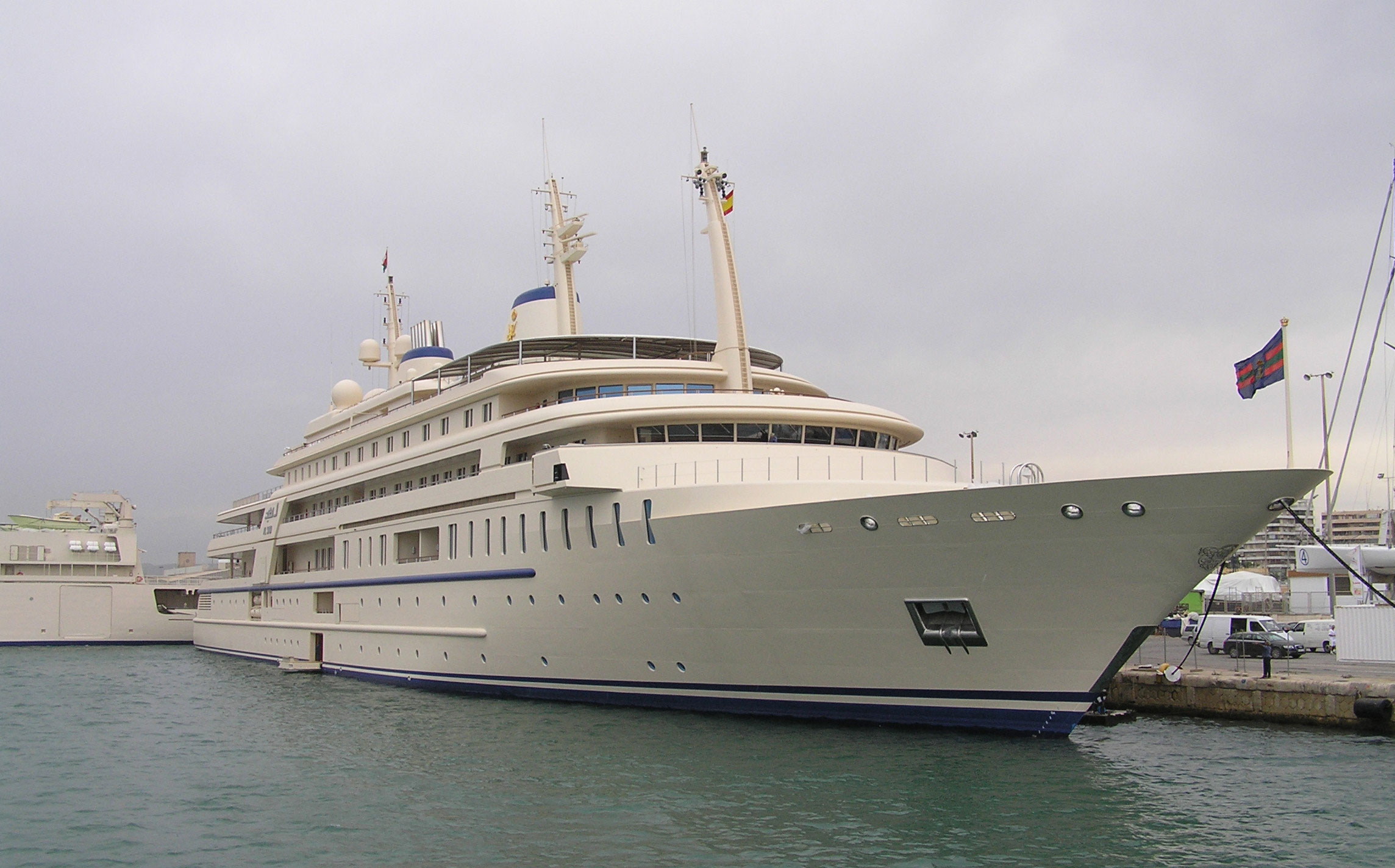 Sultan Qaboos of Oman's Al Said Yacht