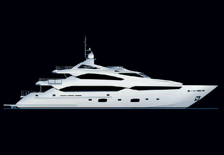 New Sunseeker 40-meter Luxury Yacht