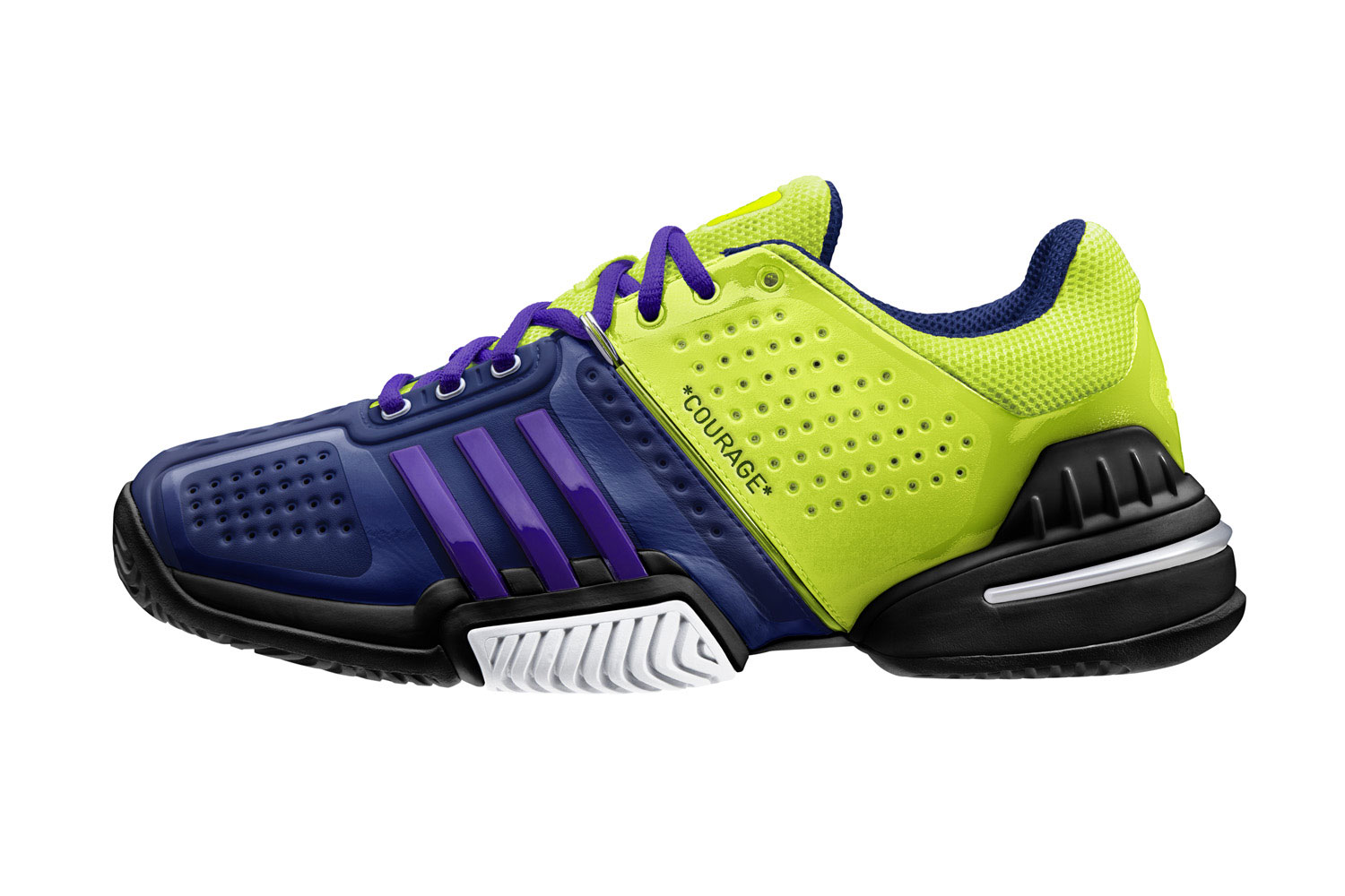 Personalized Adidas mi Barricade 6 Footwear by Melanie Oudin – the