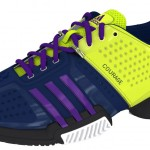 Personalized Adidas mi Barricade 6 Footwear by Melanie Oudin – the COURAGE to BELIEVE
