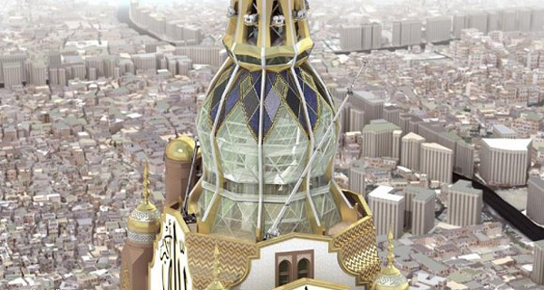 The Makkah Clock Royal Tower &#8211; Worlds Largest Clock Will Begin Testing on August 11th
