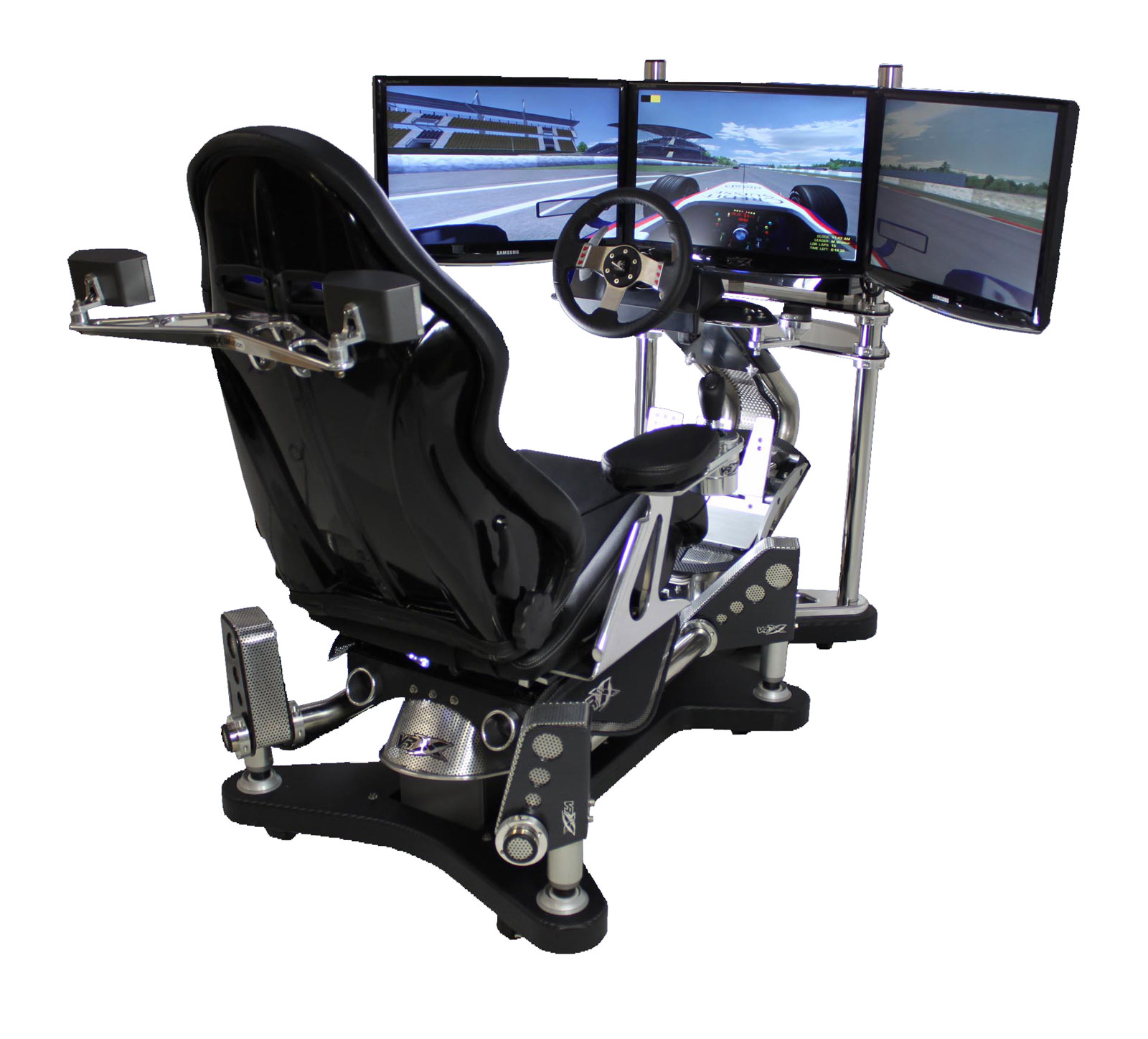 VRX iMotion 3D Full Motion Racing Simulator add a Whole New Level of