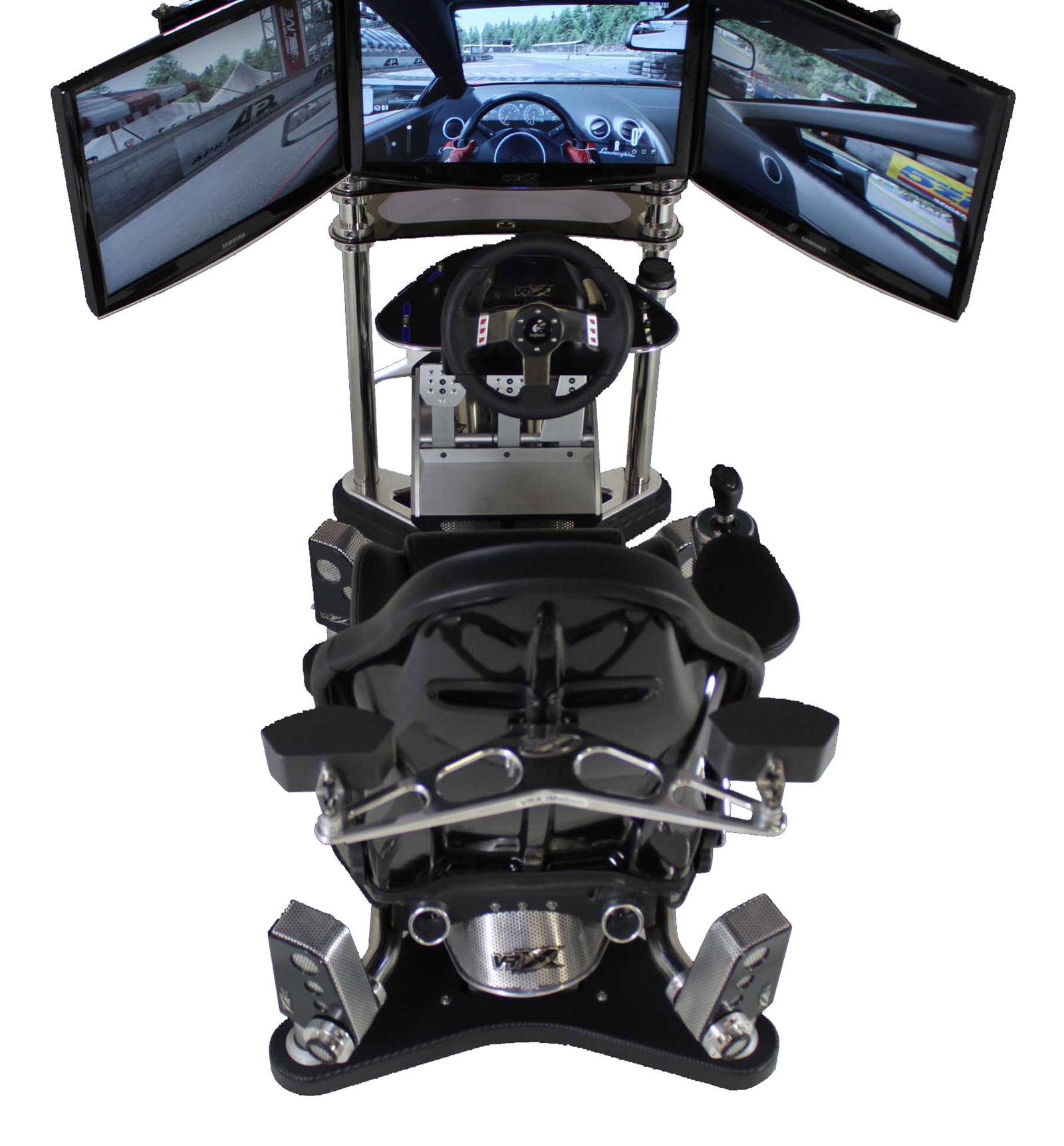 VRX iMotion 3D Full Motion Racing Simulator