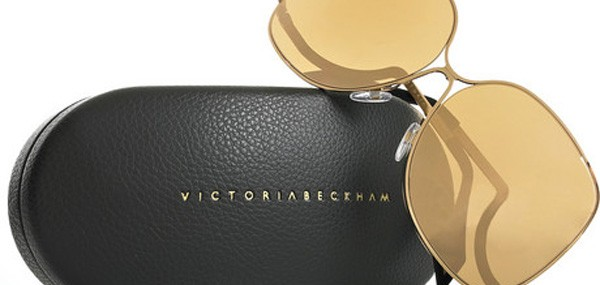 Victoria Beckham 18-karat Rose Gold-coated Sunglasses add a Fabulous Style to Your Look
