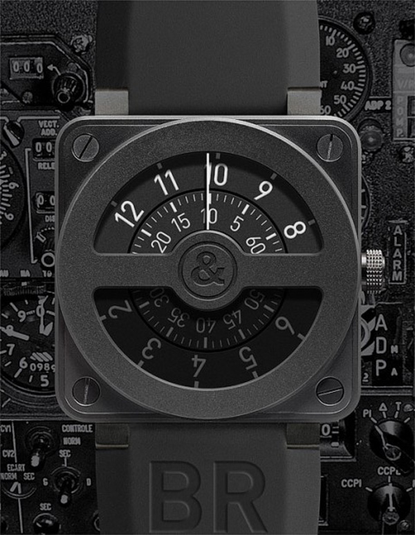 Limited Edition Bell & Ross BR 01-92 Compass Watch