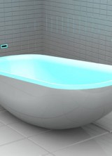 Glowing Bath – Soothing Colors in Your Bathroom