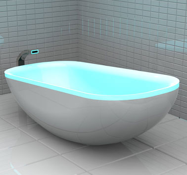 Glowing Bath &#8211; Soothing Colors in Your Bathroom