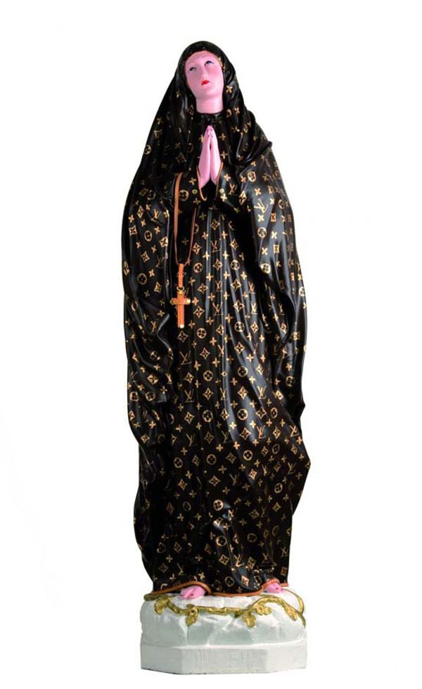Virgin Mary Wears Louis Vuitton