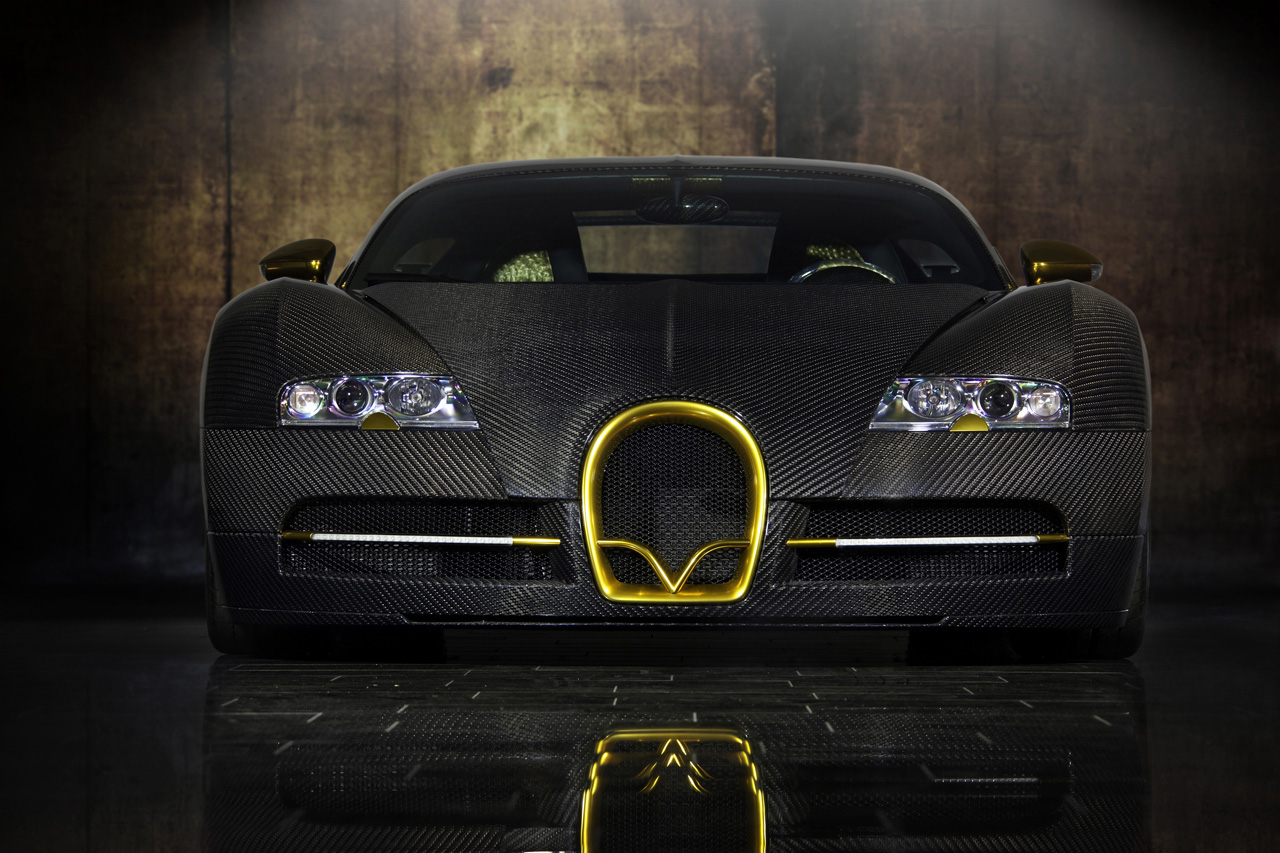 Unique Edition, One of One &#8211; Bugatti Veyron Linea Vincero d&#8217;Oro by Mansory