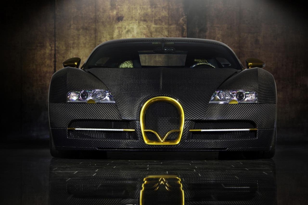 Bugatti Veyron Linea Vincero d'Oro by Mansory