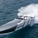For Sale – Mercedes-Benz SLS AMG Cigarette Boat – AMG Cigarette Twin Mercury HP1350