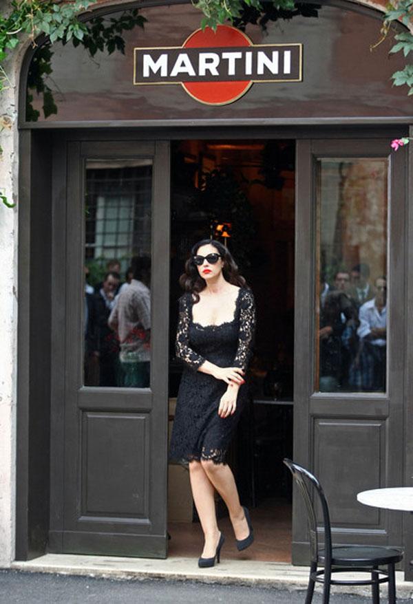 Monica Bellucci for Martini Gold by Dolce & Gabbana
