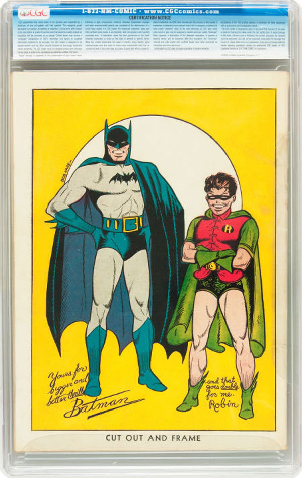 Rare Copy of Batman No. 1