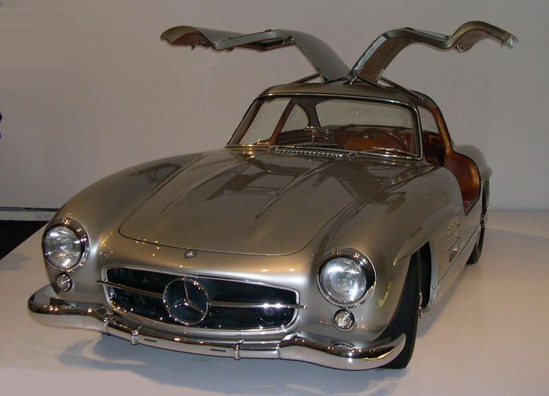 1956 Mercedes-Benz 300SL Gullwing at Automobiles Sur les Champs Elysees Auction