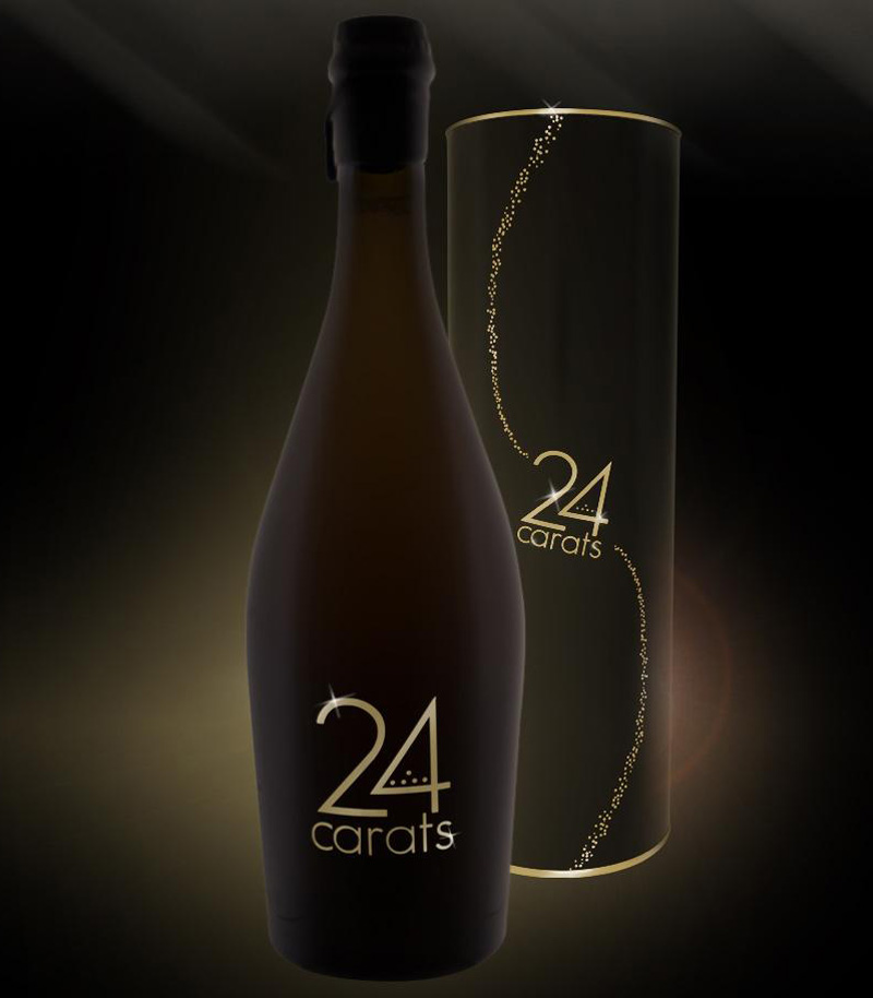 24 Carats Beer - the World's First Beer with Pure Gold Flakes