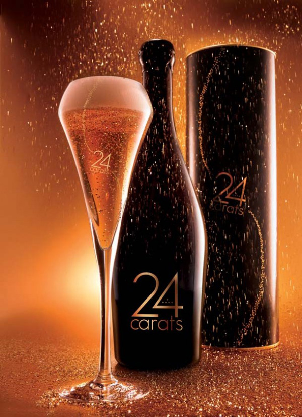 24 Carats Beer – the World's First Beer with Pure Gold Flakes
