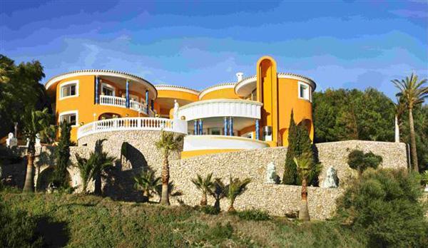 luxury villa colani on majorca island for sale on ebay extravaganzi. Black Bedroom Furniture Sets. Home Design Ideas