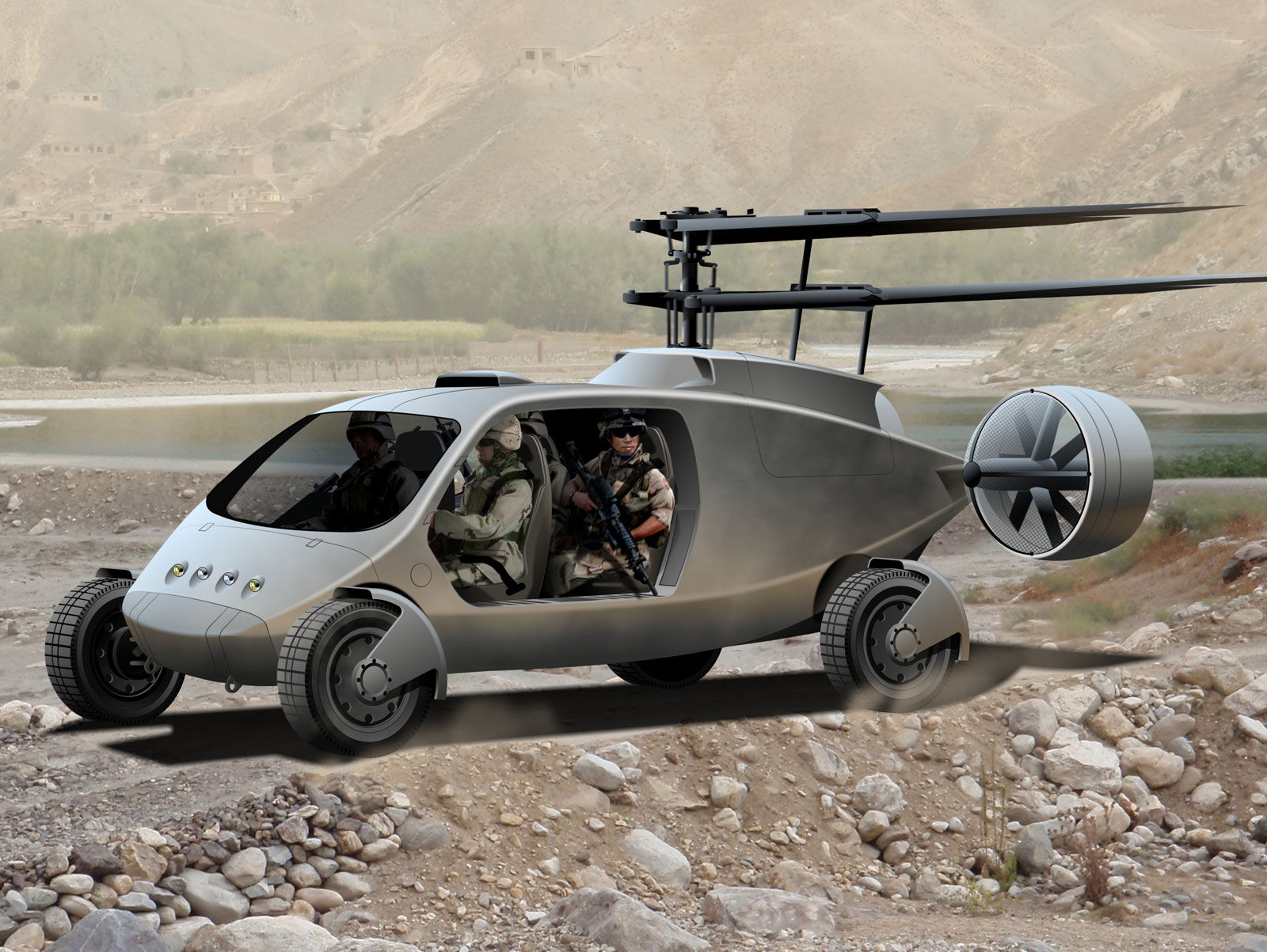 Flying Hummer – AVX Aircraft's Flying SUV