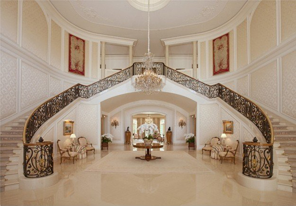 Aaron and Candy Spelling's Mansion