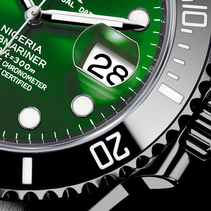 Amosu Rolex Nigeria 50th Anniversary Watch