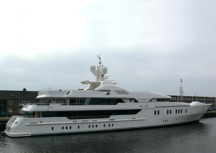 Aquarius Yacht (Formerly My Shanti Yacht) For Sale