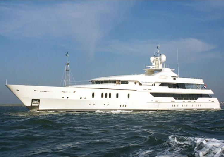 Aquarius Yacht (Formerly My Shanti Yacht)
