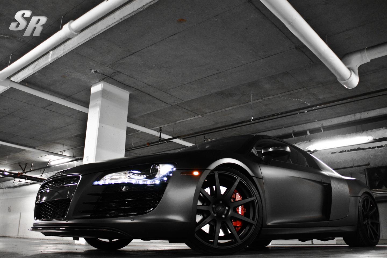 Project Pur Audi R8 Phantom by SR Auto Group