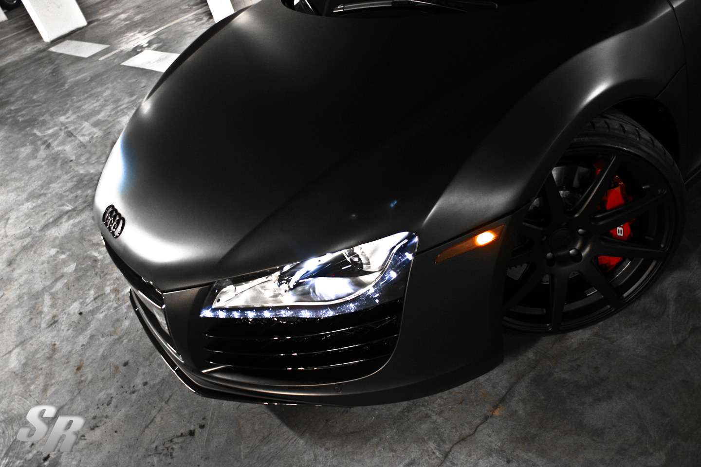 Project Pur Audi R8 Phantom by SR Auto Group