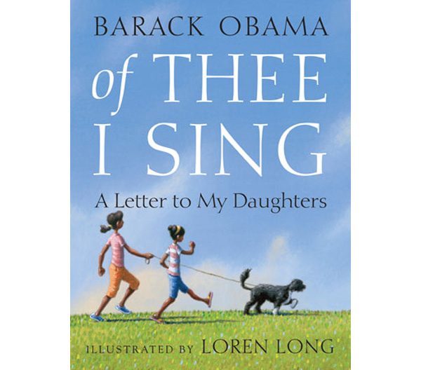 "Barack Obama's ""Of Thee I Sing - A Letter To My Daughters"" Book"