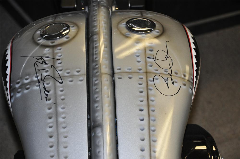 Barack Obama Signed Custom Chopper