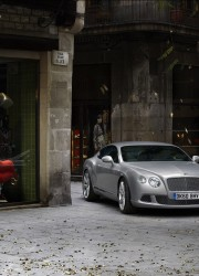 The New Bentley Continental GT Four Seat Coupe