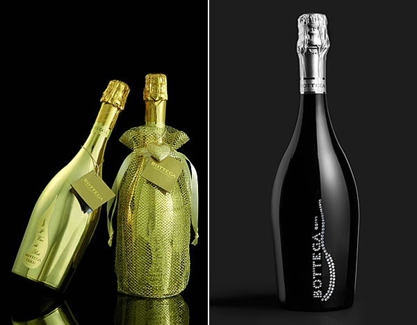 Bottega Gold Magnum and Bottega Diamond Wine