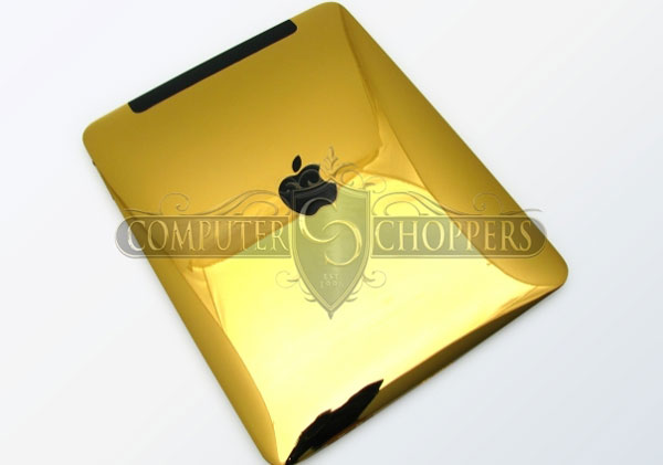 Computer Choppers Offers Custom iPad Cases for the Opulent Apple Lovers