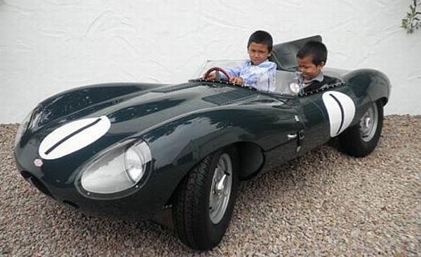 D-Type Jaguar Children's Car