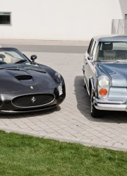 Elvis Presley's Mercedes-Benz 600 and 2000 Ferrari 550 GTZ