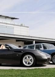 Elvis Presley's Mercedes-Benz 600 and 2000 Ferrari 550 GTZ