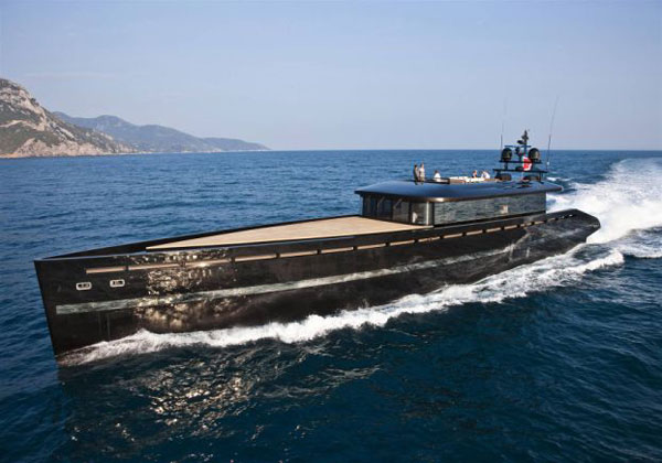 H2ome Superyacht by Fraser Yachts