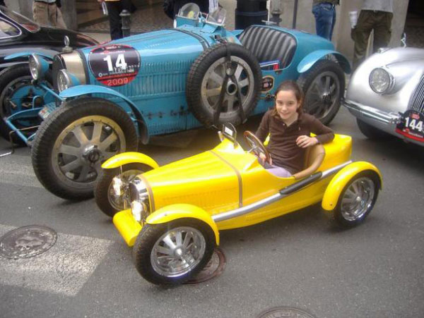 Half Scale Bugatti T35 Children's Car